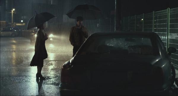 21:30: Möte i regn.