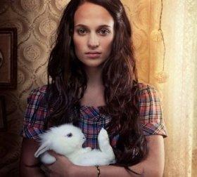 Alicia med kanin
