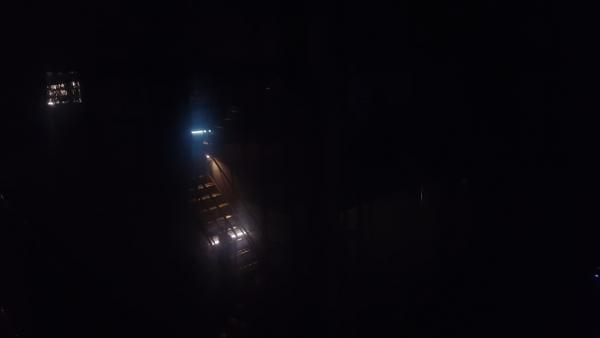 Så här mörkt var det oftast inne i Mimer